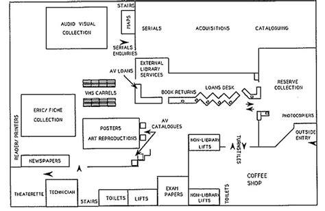 Auto Repair Shop Floor Plans by 1972 2012 Floor Plans Of Robertson Library