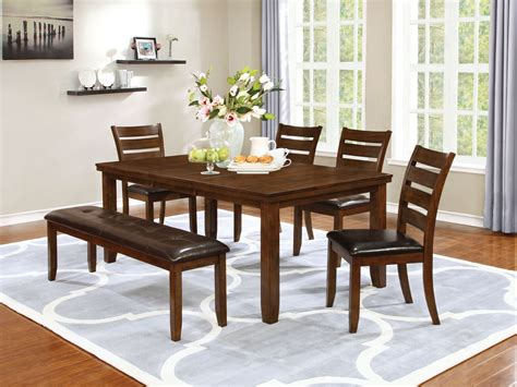 brown dining room set maxwell golden brown dining room set from coaster