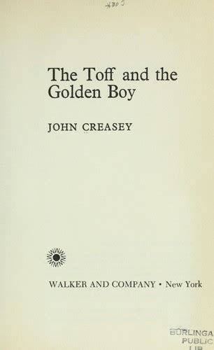 the toff and the golden boy the toff and the golden boy 1969 edition open library