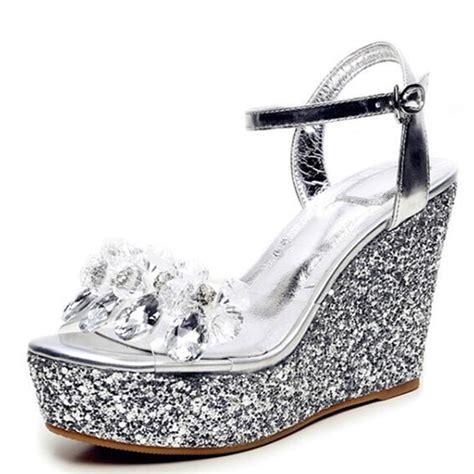 Sepatu Wanita Wedges Nyy 50 Putih buy grosir bridal sandal from china