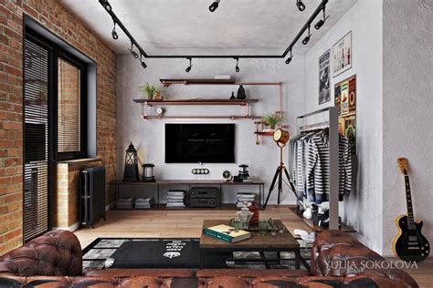 bachelor living room how to design industrial style bachelor pads 4 exles