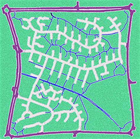 grid pattern road network city block wikipedia