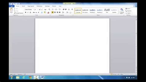 How To Find And Create A Resume Template In Microsoft Word 2010 Youtube How To Find Templates In Word