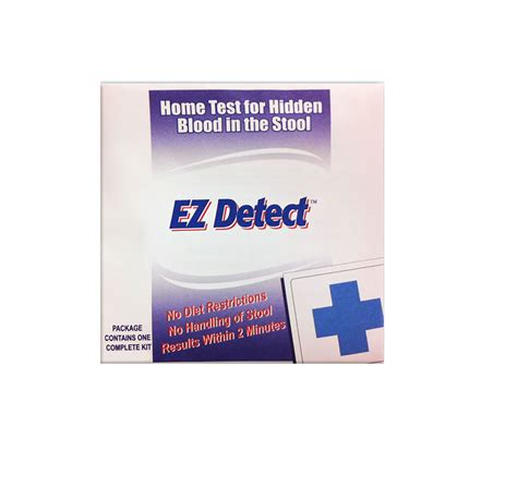 Stool Testing Kit by Buy Ez Detect Blood In Stool Instant Home Testing Kit