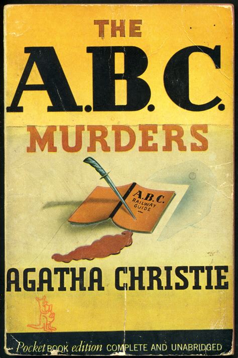 the abc murders poirot 0007234430 writers agatha christie on agatha christie cover art and book covers