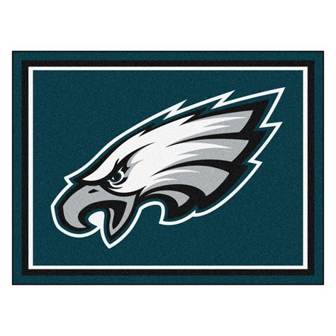 Philadelphia Eagles Area Rug with Philadelphia Eagles Area Rug 5 X 8