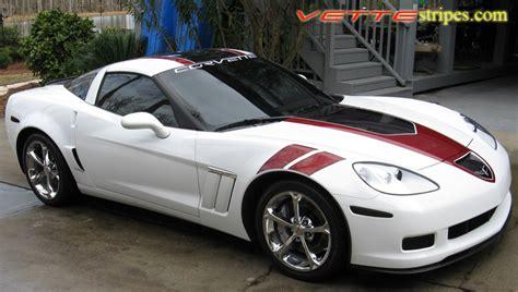 corvette stripes c6 corvette gt1 stripes all c6 models vettestripes