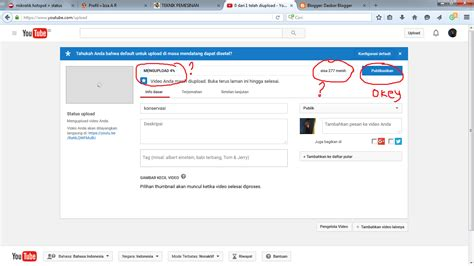 youtube tutorial upload video tutorial upload video di youtube izza a r