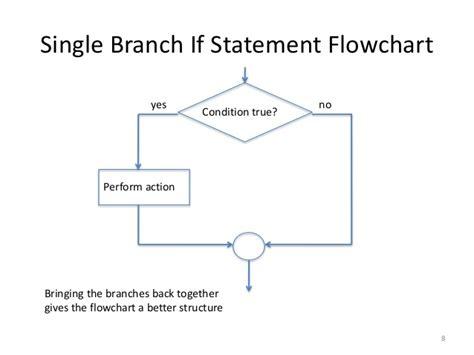 flowchart branch conditional statements