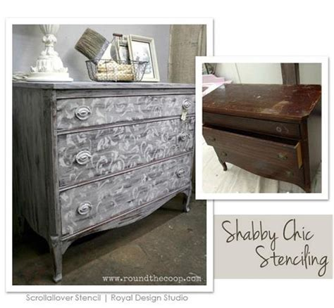 Shabby Chic 5595 by The Gray Sloan Paints Stencil