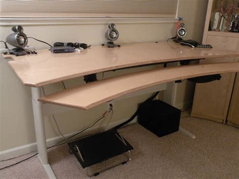 diy adjustable standing desk how i made my adjustable height standing desk