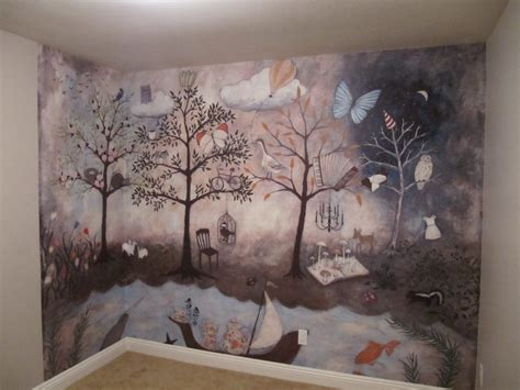 Wall Paper Murals For Sale aubree s enchanted forest nursery project nursery