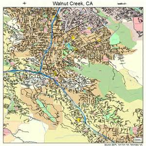 walnut california map walnut creek ca pictures posters news and on
