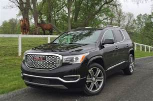 Buick Gmc 2017 Gmc Acadia Drive Review Smaller On Purpose