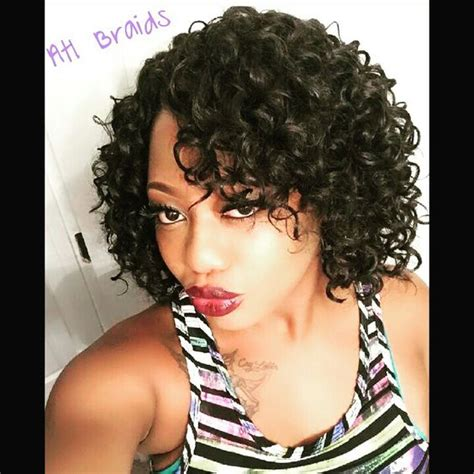 crochet braids hair styles atlanta ga ea curls and style on pinterest