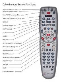 how to use comcast cable tv remote for dvr for seniors