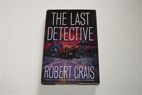 the last detective by robert crais doubleday