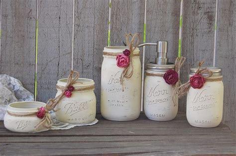 cool bathrooms bathroom set rustic mason ideas collection 17 best mason jar gifts images on pinterest cool ideas