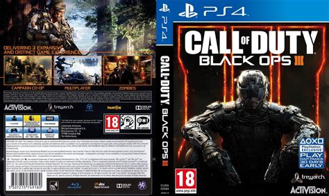 Ps4 Call Of Duty Black Ops Iii capa call of duty black ops 3 ps4 gamecover capas
