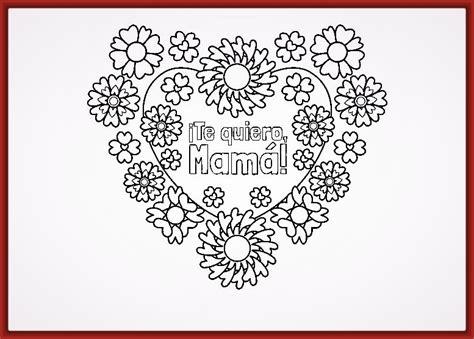 imagenes variadas para imprimir dibujos de corazones con flores para colorear fotos de