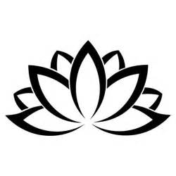 Simple Lotus Drawing Sacred Indian Lotus Flower Nelumbo Nucifera Vinyl Laptop