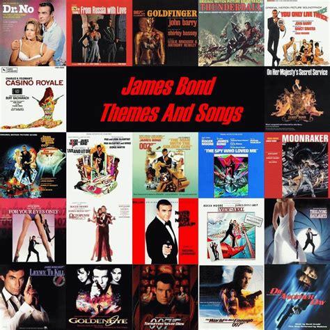 list theme songs james bond movies james bond soundtracks