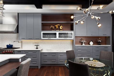 bespoke kitchen design ideas modern transitional 20 grey kitchen cabinet doors corrugated metal