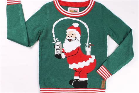 the only ugly christmas sweater you need sound
