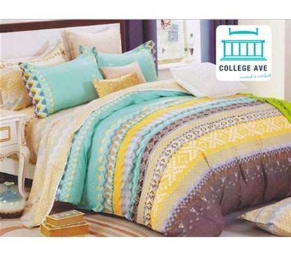 college bedding twin xl caribbean coast twin xl comforter set college ave