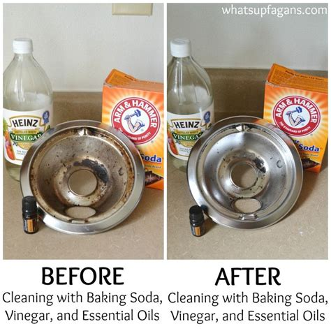 how to clean with baking soda the best and worst methods of cleaning stove drip pans