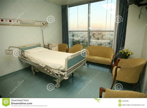 Hospital Bed Bedroom Stock Photo Image: 4245930