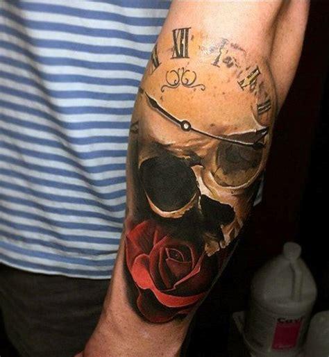 clock tattoos  men improb