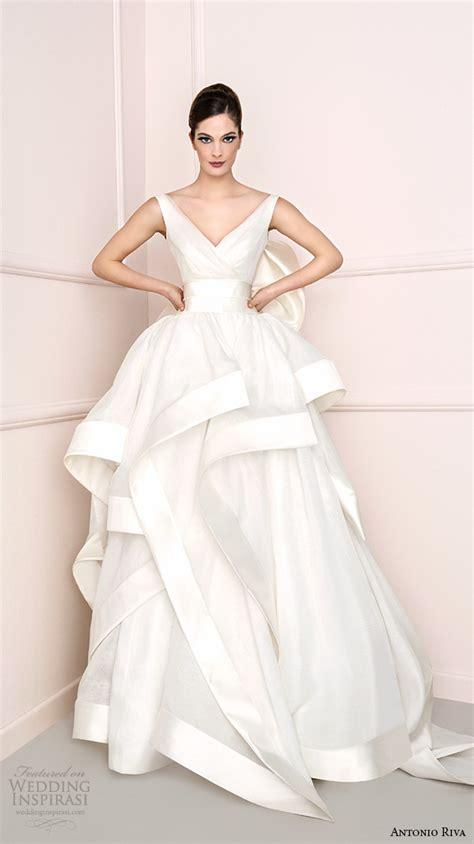 Wedding Dressers Antonio Riva 2016 Wedding Dresses Wedding Inspirasi