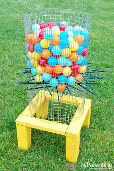 backyard kerplunk game diy backyard ker plunk game