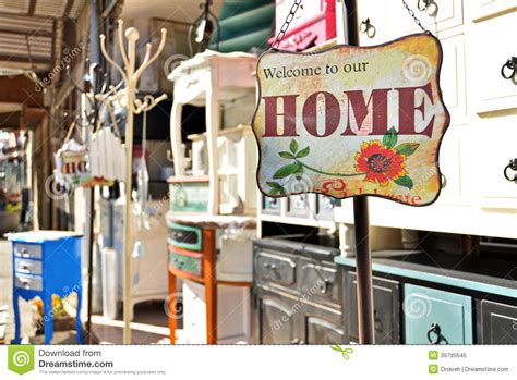 welcome to our home sign editorial image image 39795545