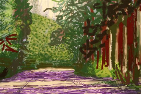 David Hockney by Exhibition David Hockney Current At Ngv International