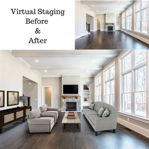 before and after staging is virtual staging a good option vantagepoint 3d