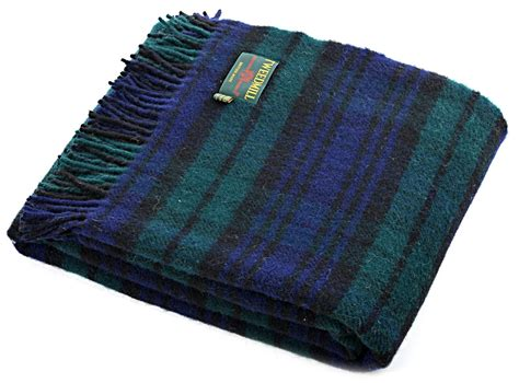 decke aus wolle wool blanket made gifts black