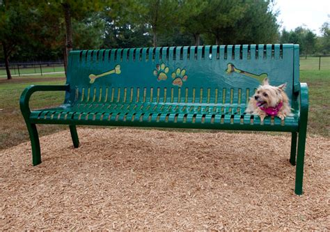 dog park benches deluxe dog park bench 6ft bench available in multiple colors