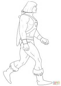 He Man coloring page | Free Printable Coloring Pages