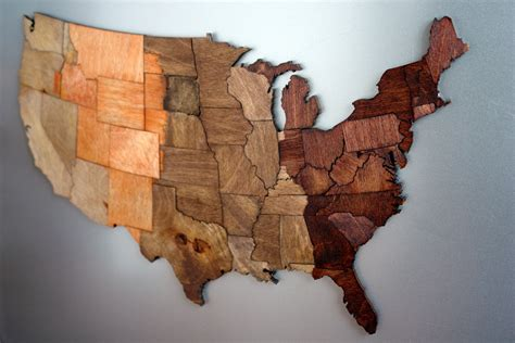 usa magnetic puzzle map usa magnetic time zone puzzle stained birch plywood