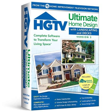 hgtv 174 software allows you to easily view 3d virtual tours hgtv 174 ultimate home design with landscaping decks 3