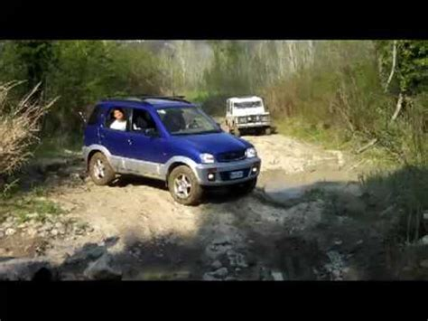 daihatsu terios off road terios off road youtube