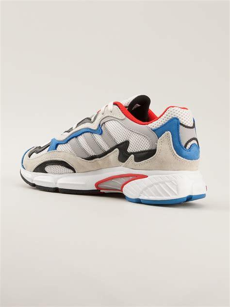 lyst adidas temper run sneakers  white  men
