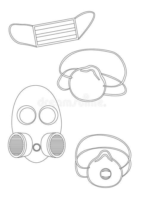 Respirator And Face Mask To Protect Brows And Respiratory