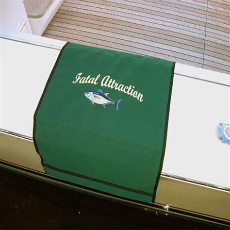 gunwale on a boat custom embroidered mat for boat protect boat s finish