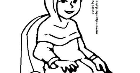 gokil  gambar sketsa ibu menggendong bayi