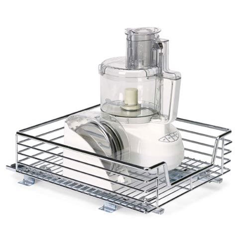 sliding cabinet organizers kitchen chrome sliding cabinet organizer 17 inch in pull out baskets
