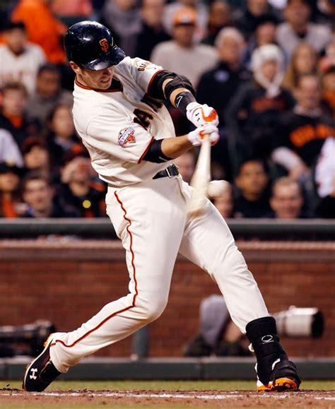homerun swings posey home run swing baseball pinterest