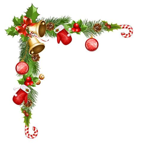 transparent christmas decorative ornaments clipart
